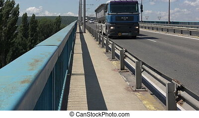 Asparuhov bridge in Varna. Bulgaria. - Asparuhov bridge in...