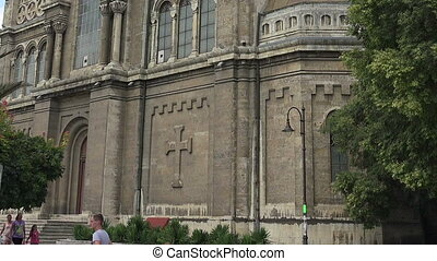 The Cathedral of the Assumption in Varna, Bulgaria. - The...