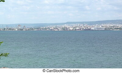 The coastline of Varna. Bulgaria. - The coastline of Varna....