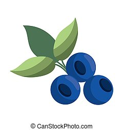 blueberry leaves diet icon