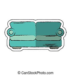 cartoon sofa comfor furniture design