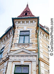 Antique building in Oradea's dowtown - Picture of a...
