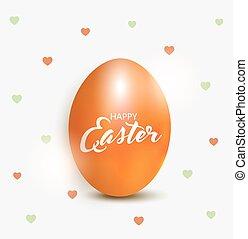 Easter egg- Easter greeting card
