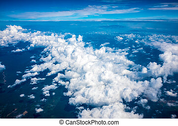Ariel View of Nice Cloud Formation - Ariel view of...