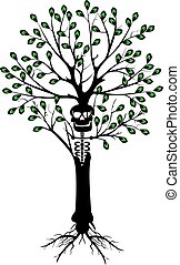 dead tree - It is a vector illustration in EPS file