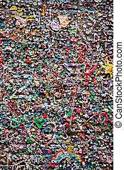bubble gum background - bubble chewing gum background -...