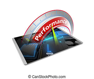 High performance computer tablet concept