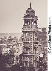 Jodhpur clock tower - Clock tower in Jodhpur - city...