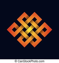 Abstract celtic design
