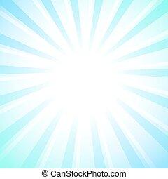 White rays star burst background, pastel colors