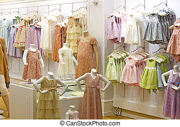 Tienda,  children\'s, ropa