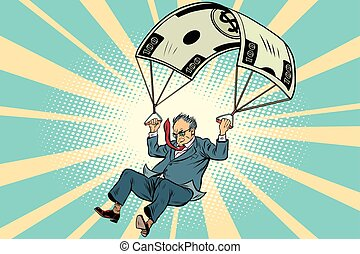 Retired Golden parachute financial compensation in the...