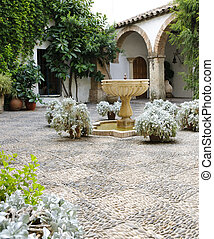 Palacio de Viana - Typical Andalusian patio - Typical...