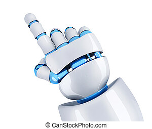 Robot hand specify (done in 3d, isolated)