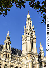 Townhall Vienna - Townhall of capital city Vienna in Austria