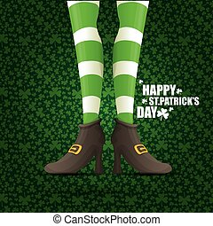 vector saint patrick day background