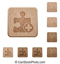 Add new plugin wooden buttons - Add new plugin on rounded...