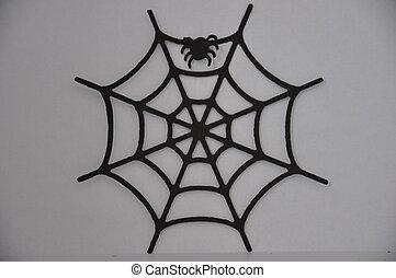 Spiderweb - paper spiderweb