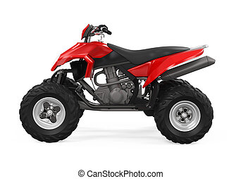 All-Terrain Vehicle Isolated - All-Terrain Vehicle isolated...