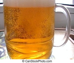 Drink a large glass of beer