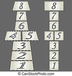 hopscotch composition