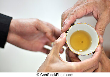 Tea Ceremony - Chinese Tea ceremony is performed during a...