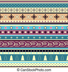 Seamless striped christmas wallpaper
