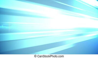 Abstract blue lights business technology background