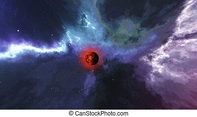 """""""Abstract galaxy Big Bang creation."""" - """"Abstract galaxy Big..."""