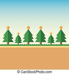 Background Christmas tree