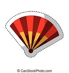 typical fan spain icon