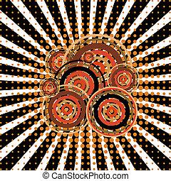 Twirl with retro elements