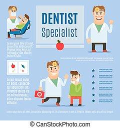 Dentist specialist infographic design - Dentist specialist...