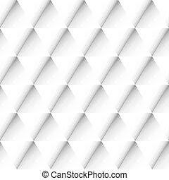 Abstract geometric pattern. - Seamless monochrome triangular...