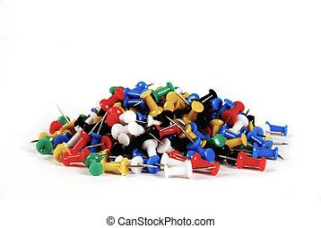 Colourful Tumb Tacks