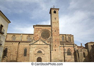 Cathedral Church in Siguenza; Guadalajara; Spain