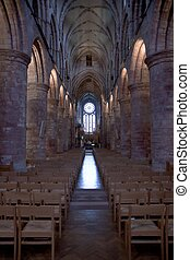 St. Magnus church in Kirkwall, Orkney, Scotland