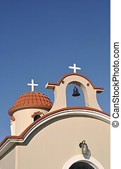 Greek church - beautiful greek church in Kos, Greece...