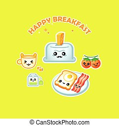 Happy breakfast