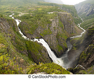 Awesome Voringfossen - V?ringfossen is one of the most...
