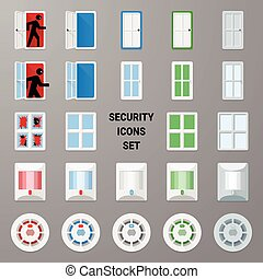 Material icons security set 2