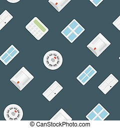 Security seamless pattern 4.0