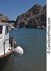 Kalymnos island - beautiful Kalymnos island port, Greece