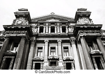 Palace of Justice, Brussels - Monumental architecture...