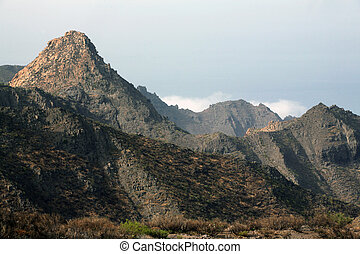 Canary Islands - Volcanic hills on Canary Islands, Tenerife,...