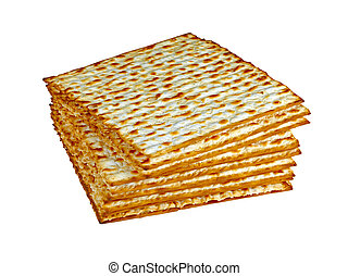 Matzo (or matzah) is bread traditionally eaten by Jews...