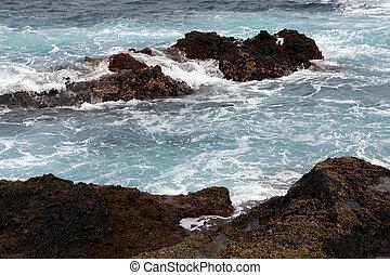 Canary Islands - Coast of the Canary Islands,Tenerife, Spain