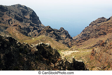 Canary Islands - Hills of the Canary Islands Tenerife
