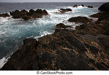 Canary Islands - Coast of the one of Canary Islands,Tenerife