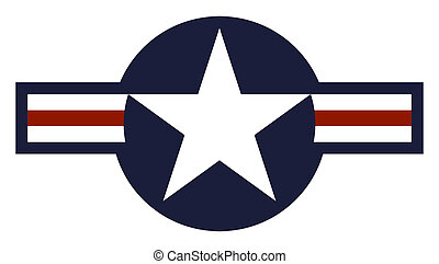 United States Air Force Roundel - Illustration of United...